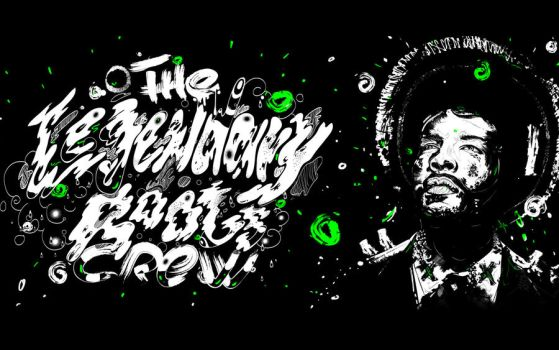 QUESTLOVE - THE ROOTS WALLPAPE by endemo