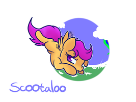 Scootaloo by C0tt0nTales