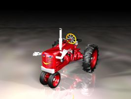 3d Tractor by isiza