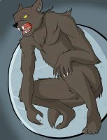 A Werewolf at Midnight by Stripes-the-Raccoon