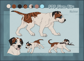 STS Dog- Richter by ShockTherapyStables
