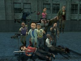 Left 4 Dead party :P by Kenixan2