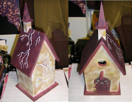 Another birdie house by Chivalricspook