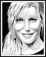 Anna Gunn - SKYLER WHITE - BREAKING BAD by Doctor-Pencil