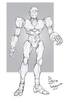 Robot Doodle by staino