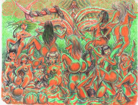 Fleshy Femme Fever Dream by TheDaveL
