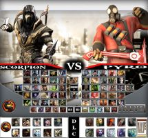 Mortal Kombat vs. Valve Universe by sprite-genius