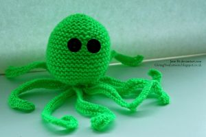 Archibald the Octopus 1 by Jane-Rt
