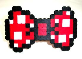 Minnie Mouse 8 Bit Bow by GeekyGamerShop