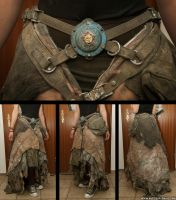 Post-Apoc Skirt by NuclearSnailStudios