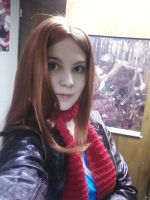 Amy Pond Costume by EmilyScissorhands
