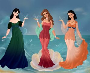 Daring Daughters of Poseidon