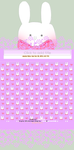 Journal Skin: Bunny, Free to use (fixed) by KohakuHime-Chan