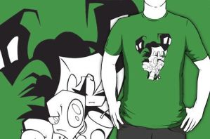 Invader Zim by NomiShirts