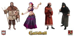 Guildhall 1 Characters by MikePerryArt