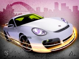 Porshe Cayman by ArtEdgeCreative