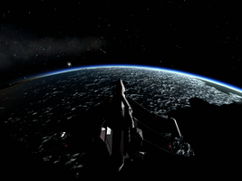 KSP Screenshot: Over the North Pole by AvP66