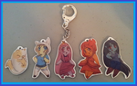 Adventure Time keychains - Set 1 On Sale by Busoni
