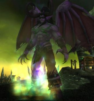 Illidan by blackberrycrow
