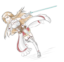 Hollow Realization Asuna by MentorErico