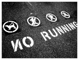 No Running by paolo91