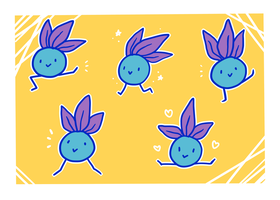 Oddish by LexisSketches