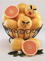 Manly Grapefruits HURRR by kiraito