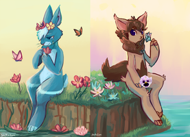 Flower boys by geckoZen