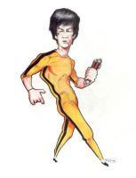 Bruce Lee by nunofrias