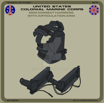 USCMC M56 Combat Harness by Wolff60