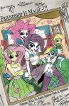 Equestria Girls Yearbook Cover by PonyGoddess