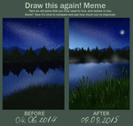 Draw it again: River by Ater-Catta