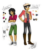 My other OCs by M4DH4ttey266