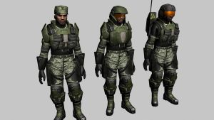 Halo 3 marine WIP 8 by Robotlouisstevenson