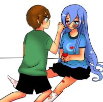 you did not have to do that..... by mew-vocaloid
