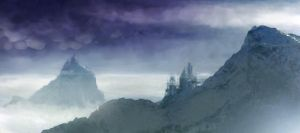 matte mountain test by therealarien