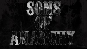 Sons of anarchy typo by BeAware8