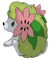 Shaymin the Flower Pokemon by KingofAnime-KoA
