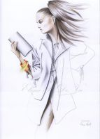 fashion drawing by ElenaR