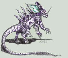 Realistic Nidoking by Fregatto