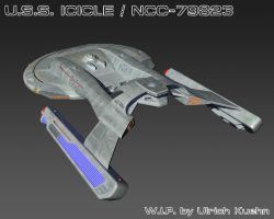 USS ICICLE / NCC-79823 W.I.P.-092 Textures by ulimann644