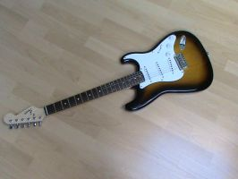 Electric Guitar Stock by Mithrillion