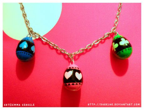 Shugo Chara Necklace by ZombiDJ
