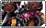 RustTyranomon Stamp. by WOLFBLADE111