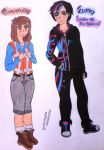 Genderbender - Emma and Luke (The Lego Movies) by clubpenguin1