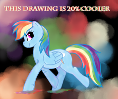 This Drawing is 20% Cooler by DandeIion