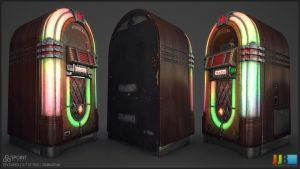 Jukebox - Textured Lit by JeremiahBigley