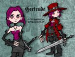 Gertrude Reference Sheet by Quimtuk
