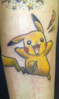Pikachu by Mythos-Tattoo