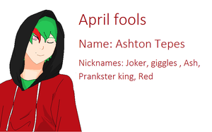 rotg oc: April Fools by axelfangirl956